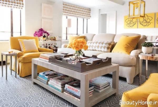 طراحی منزل با رنگ استخوانی