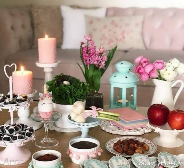 تزیین میز برای عید نوروز
