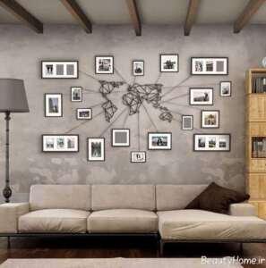 ایده های جالب برای پر کردن دیوار منزل