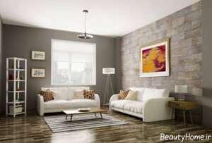 تزیین ساده دیوار منزل