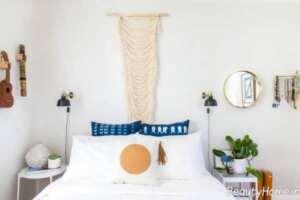 تزیین برای دیوار اتاق خواب