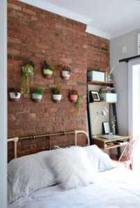 پر کردن دیوارهای خانه با گلدان