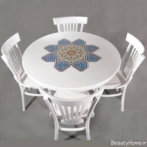 میز ناهار خوری سنتی
