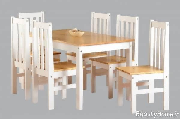 میز ناهار خوری ام دی اف