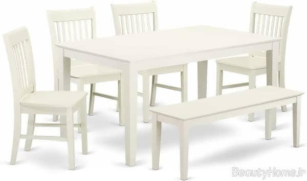 مدل میز غذاخوری شیک و زیبا