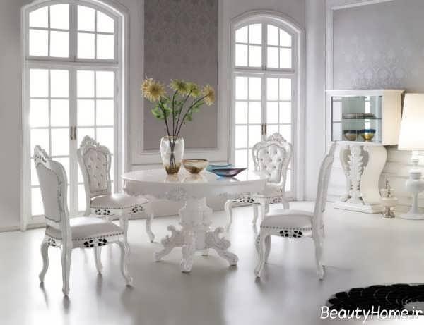 میز ناهار خوری کلاسیک