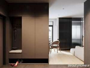 طراحی دکوراسیون خانه 55 متری