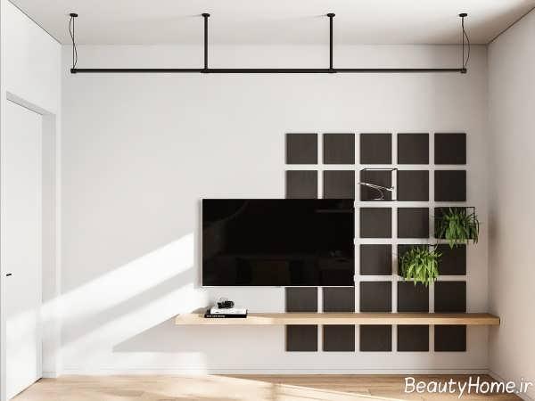 طراحی داخلی خانه 55 متری