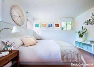 دکوراسیون رنگ روشن اتاق خواب