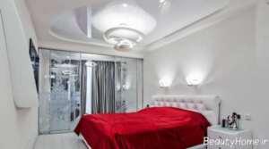 دکوراسیون زیبا اتاق خواب 9 متری