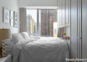 طراحی داخلی اتاق خواب 9 متری