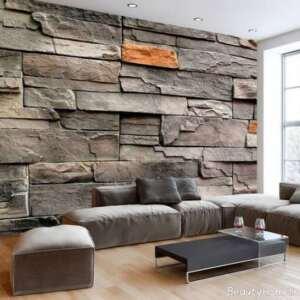 طراحی دکوراسیون منزل با سنگ