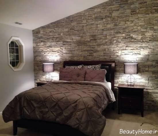 تزیین اتاق خواب با سنگ