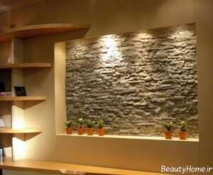 تزیین خاص منزل با سنگ