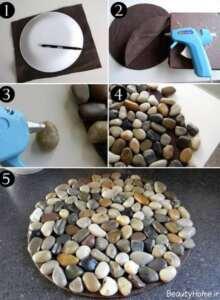 ساخت وسایل تزیینی سنگی