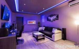نورپردازی برای اتاق گیم