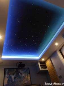 طراحی سقف اتاق بازی