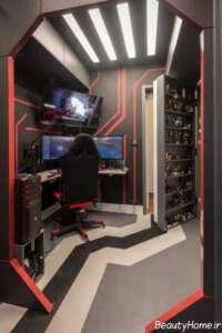 طراحی نورپردازی برای اتاق بازی