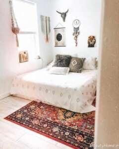 دیزاین اتاق خواب به سبک هوگه