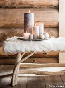تزیین منزل با شمع