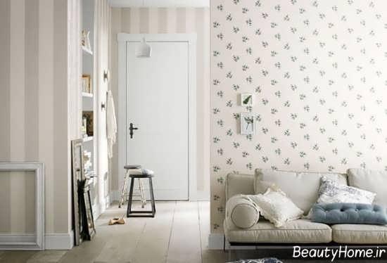 کاغذ دیواری زیبا و طرح دار