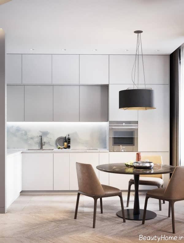 دکوراسیون آشپزخانه برای خانه 60 متری