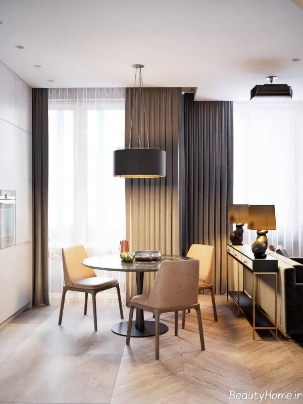 طراحی داخلی خانه 60 متری