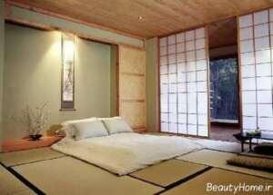 دکوراسیون اتاق خواب بدون تخت