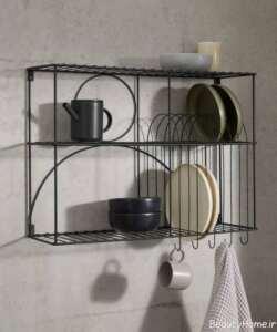 شلف دیواری فلزی برای آشپزخانه