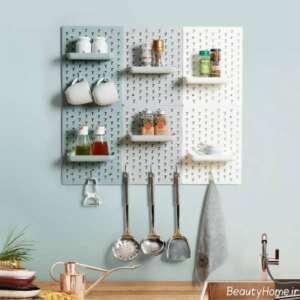 شلف دیواری کوچک برای آشپزخانه
