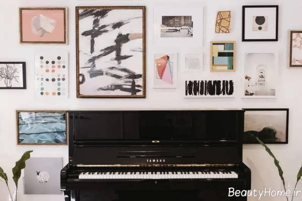 دکوراسیون شیک و خاص اتاق موزیک