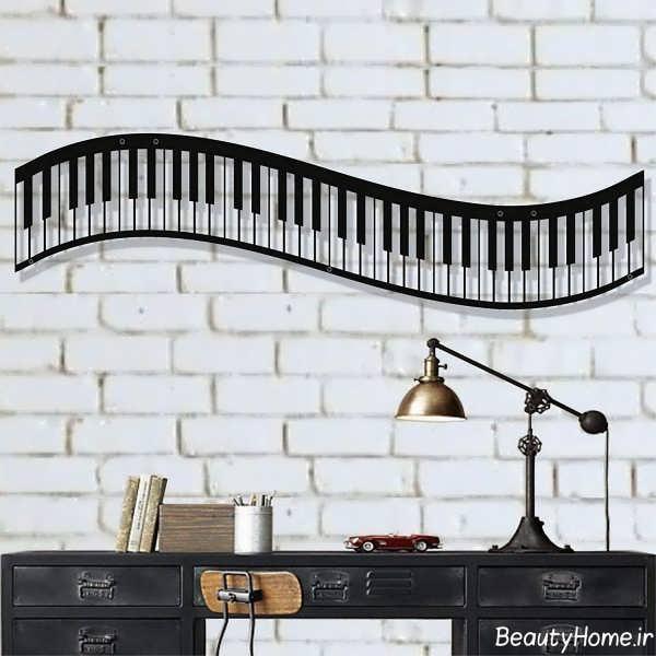 دکوراسیون داخلی اتاق موزیک