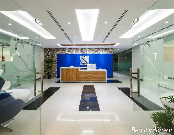 دکوراسیون داخلی دفتر املاک