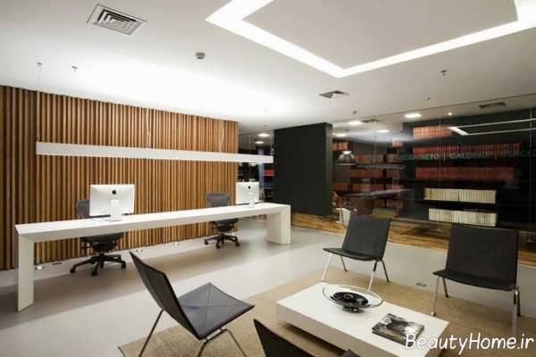 طراحی نورپردازی برای دفتر املاک