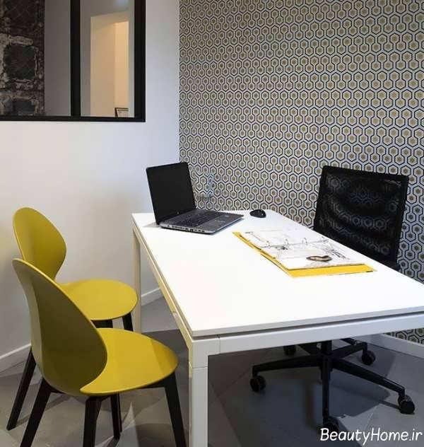 دیزاین داخلی دفتر املاک