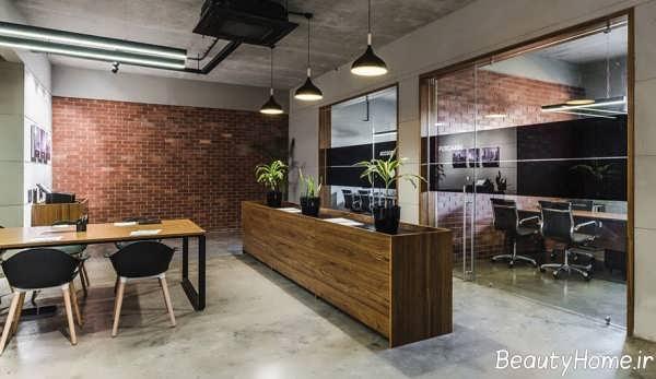 طراحی داخلی مخصوص دفتر املاک