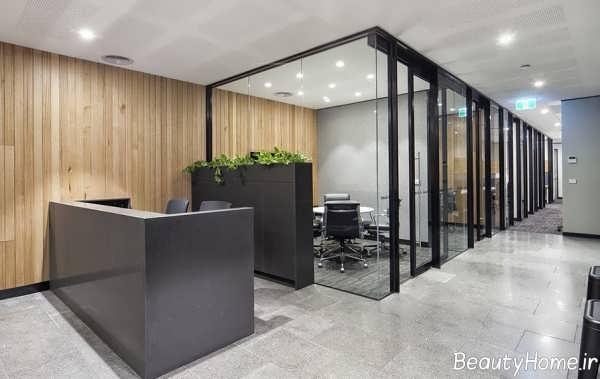 دیزاین شیک دفتر املاک