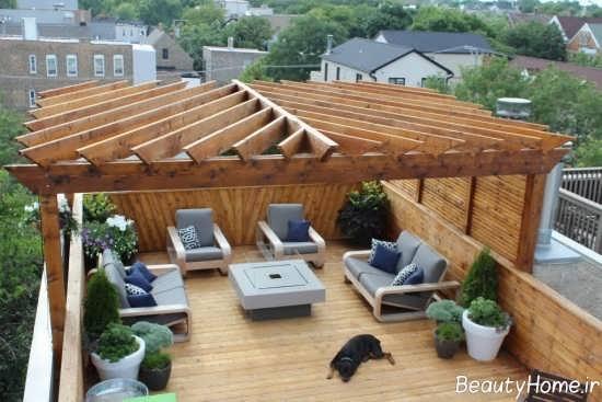 آلاچیق برای پشت بام