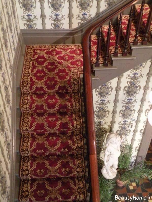 فرش سنتی برای راه پله