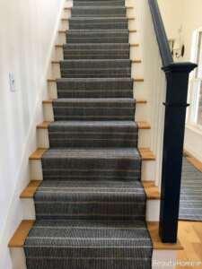 فرش طوسی برای راه پله