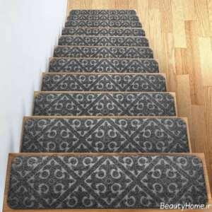 فرش طرح دار برای راه پله ها