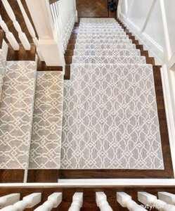 فرش زیبا مخصوص پله ها