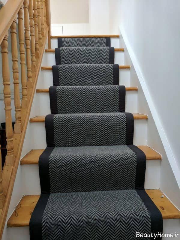 فرش ساده راه پله