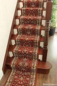 فرش طرح دار مخصوص راه پله ها