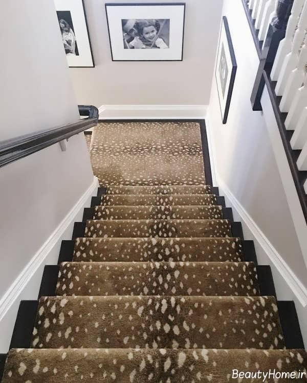 مدل فرش مخصوص راه پله ها