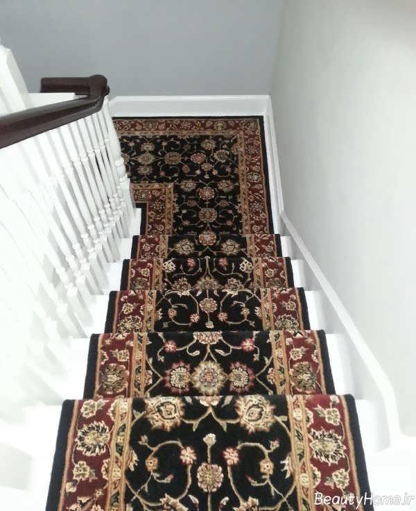 فرش زیبا برای راه پله
