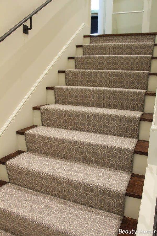 مدل فرش شیک مخصوص راه پله