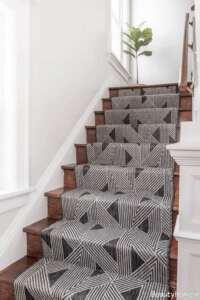 فرش طوسی مخصوص راه پله