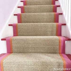 فرش زیبا مخصوص راه پله