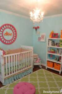 طراحی شیک برای اتاق نوزاد